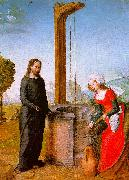 Juan de Flandes Christ and the Woman of Samaria oil painting artist