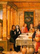Juan de Flandes The Marriage Feast at Cana 2 oil painting artist