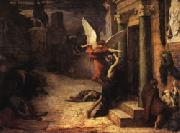 Jules Elie Delaunay The Plague in Rome oil painting artist