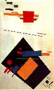 Kasimir Malevich Suprematism oil painting artist