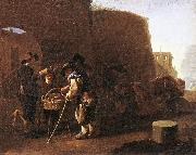 LAER, Pieter van The Cake Seller af oil painting picture wholesale