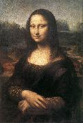 LEONARDO da Vinci Female head (La Scapigliata)  wt oil painting picture wholesale