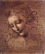 LEONARDO da Vinci The Virgin and Child with St Anne (detail)  f oil painting picture wholesale