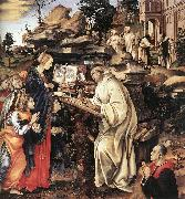 LIPPI, Filippino Apparition of The Virgin to St Bernard sg oil painting picture wholesale