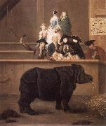 LONGHI, Pietro The Rhinoceros sg oil painting picture wholesale