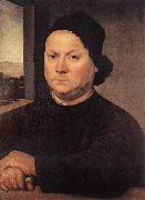 LORENZO DI CREDI Portrait of Perugino sf oil painting picture wholesale