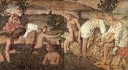 LUINI, Bernardino Girls Bathing sfg oil painting picture wholesale