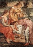 LUINI, Bernardino The Game of the Golden Cushion (detail) sg oil painting picture wholesale