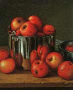 Levi Wells Prentice Apples in a Tin Pail oil painting picture wholesale