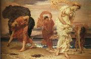 Lord Frederic Leighton The Syracusan Bride leading Wild Animals in Procession to the Temple of Diana oil painting picture wholesale