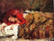 Lovis Corinth Young Woman Sleeping oil painting picture wholesale