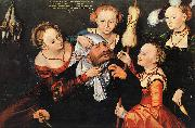 Lucas  Cranach Hercules Onfale oil painting picture wholesale
