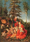 Lucas  Cranach The Rest on the Flight to Egypt oil painting picture wholesale