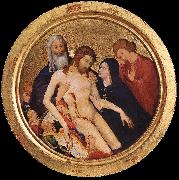 MALOUEL, Jean Large Round Pieta sg oil painting artist