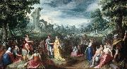 MANDER, Karel van The Continence of Scipio sg oil painting artist