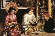 MANUEL, Niklaus St Eligius in the Workshop  sg oil painting picture wholesale