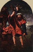 MASSYS, Quentin St John Altarpiece (left wing) sg oil painting picture wholesale
