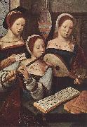 MASTER of Female Half-length Concert of Women sg oil painting artist