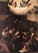 MAZZOLINO, Ludovico Adoration of the Shepherds g oil painting artist