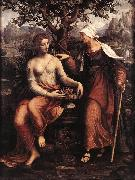 MELZI, Francesco Pomona and Vertumnus ty oil painting artist