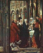MEMLING, Hans The Presentation in the Temple ag oil painting artist