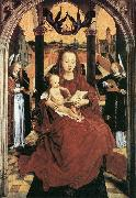MEMLING, Hans Virgin and Child in a Landscape sg oil painting artist