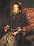 MOR VAN DASHORST, Anthonis Portrait of Mary, Queen of England gg oil painting artist