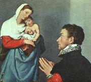 MORONI, Giovanni Battista A Gentleman in Adoration before the Madonna wg oil painting picture wholesale