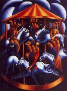 Mark Gertler The Merry Go Round oil painting picture wholesale