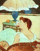 Mary Cassatt The Lamp oil painting picture wholesale