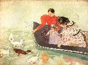 Mary Cassatt Feeding the Ducks Sweden oil painting reproduction