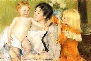 Mary Cassatt After the Bath Sweden oil painting reproduction