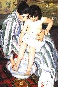 Mary Cassatt The Bath Sweden oil painting reproduction