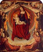 Master of Moulins Coronation of the Virgin oil painting artist