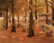 Max Liebermann Old Vinck oil painting artist