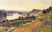 Maximilien Luce The Seine at Herblay oil painting picture wholesale