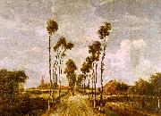 Meindert Hobbema Avenue at Middleharnis oil painting artist