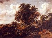Meindert Hobbema Road on a Dyke oil painting artist
