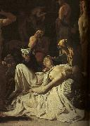 Michael Sweerts The Plague in an Ancient City oil painting picture wholesale