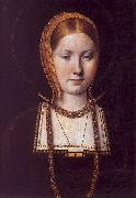 Michiel Sittow Katherine of Aragon oil painting artist