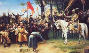 Mihaly Munkacsy The Conquest of Hungary oil painting artist