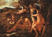Nicolas Poussin Apollo and Daphne oil painting picture wholesale
