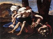 Nicolas Poussin Rinaldo and Armida 1625Oil on canvas oil painting picture wholesale