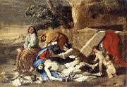 Nicolas Poussin Lamentation over the Body of Christ oil painting picture wholesale
