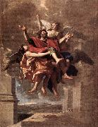 Nicolas Poussin The Ecstasy of St Paul oil painting picture wholesale