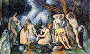 Paul Cezanne The Large Bathers oil painting artist