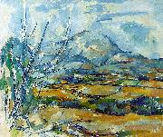 Paul Cezanne Montagne Sainte-Victoire oil painting picture wholesale