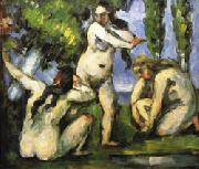 Paul Cezanne Three Bathers oil painting picture wholesale