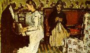 Paul Cezanne Girl at the Piano oil painting picture wholesale