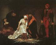 Paul Delaroche The Execution of Lady Jane Grey oil painting artist